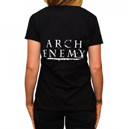 Tricou Femei Arch Enemy - Skull1