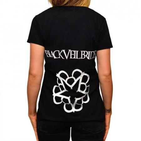 Tricou Femei Black Veil Brides - Logo1