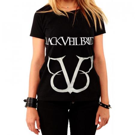 Tricou Femei Black Veil Brides - Logo0