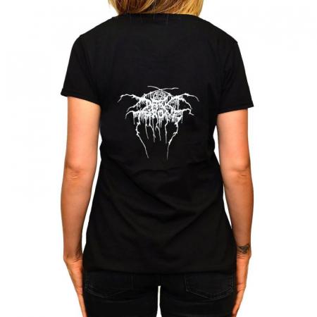 Tricou Femei Darkthrone - A Blaze In The Northern Sky [1]