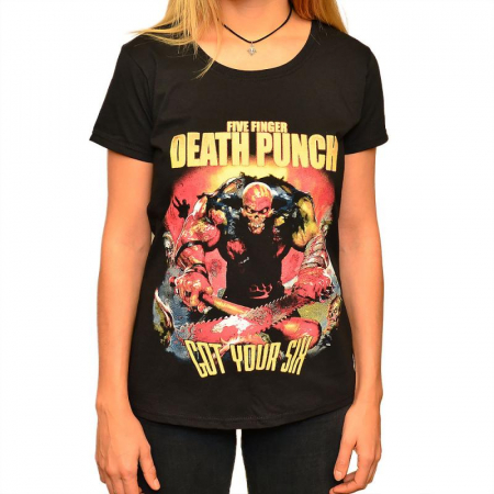 Tricou Femei Five Finger Death Punch0