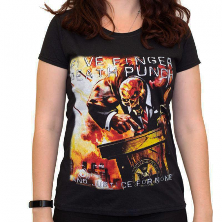 Tricou Femei Five Finger Death Punch - And Justice for None 20