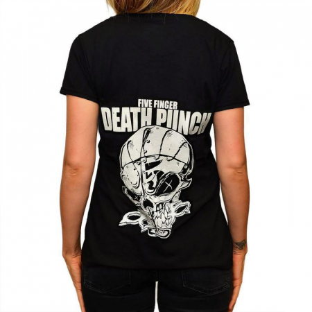 Tricou Femei Five Finger Death Punch - And Justice For None1