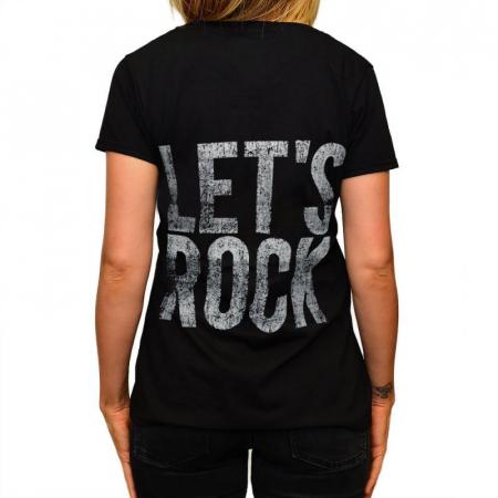 Tricou Femei Five Finger Death Punch - Let s Rock1