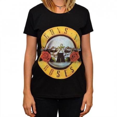 Tricou Femei Guns N Roses - Logo [0]