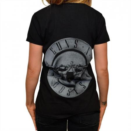 Tricou Femei Guns N Roses - Logo Band1
