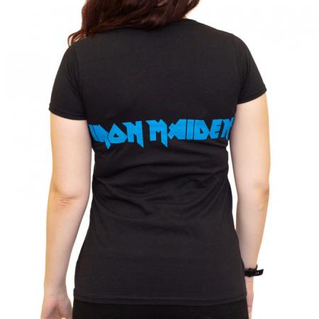 Tricou Femei Iron Maiden - Eddie Faces1