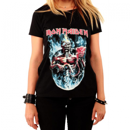 Tricou Femei Iron Maiden - Seventh Son0