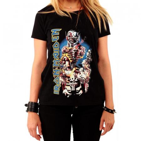 Tricou Femei Iron Maiden - Somewhere In Time0