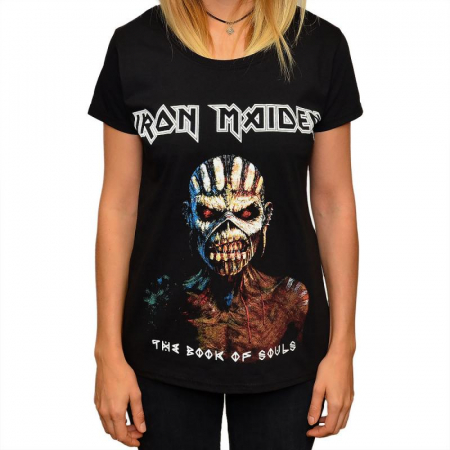 Tricou Femei Iron Maiden - The Book of Souls0
