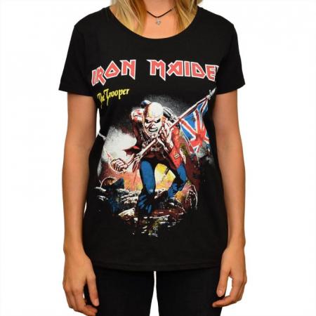 Tricou Femei Iron Maiden - The Trooper0
