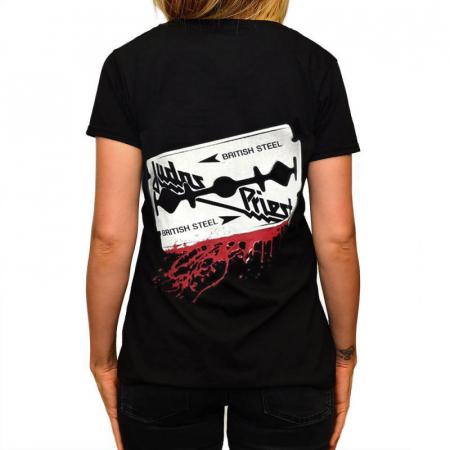 Tricou Femei Judas Priest - British Steel1