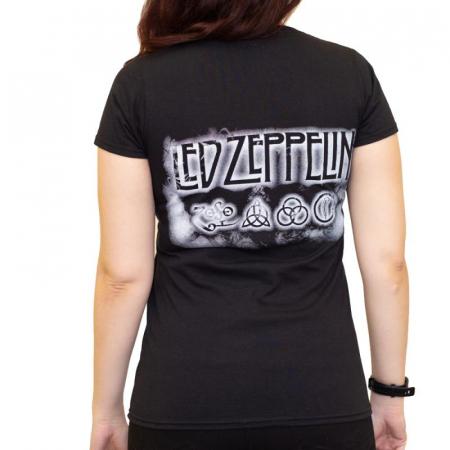 Tricou Femei Led Zeppelin - Madison Square1