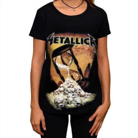 Tricou Femei Metallica - Hourglass0