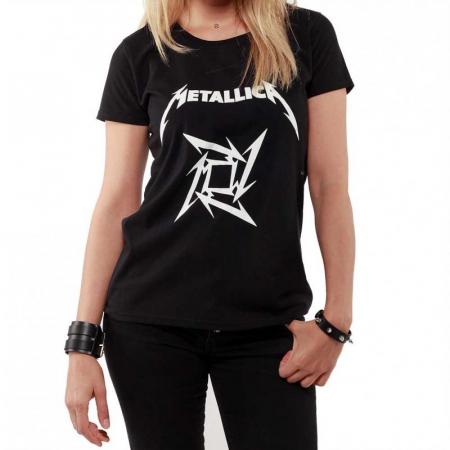 Tricou Femei Metallica LOGO0