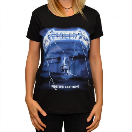 Tricou Femei Metallica Ride The Lightning0