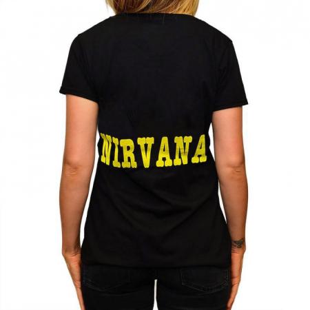 Tricou Femei Nirvana - Kurt chitara1