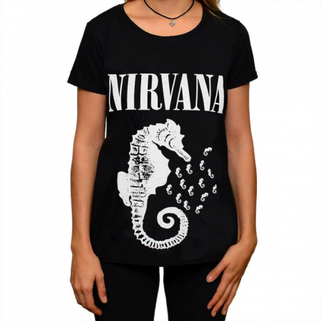 Tricou Femei NIRVANA - Seahorse0
