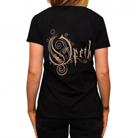 Tricou Femei Opeth - Logo1