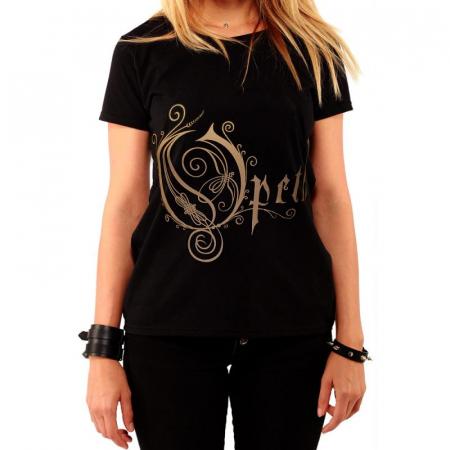 Tricou Femei Opeth - Logo0