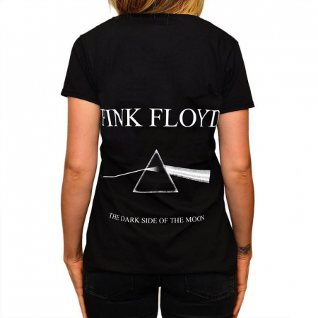 Tricou Femei Pink Floyd - The dark side of the Moon1