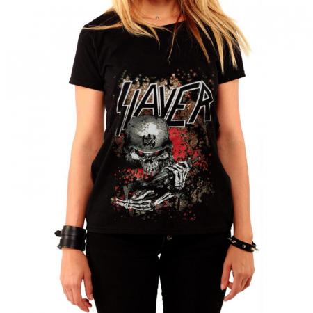 Tricou Femei Slayer - Soldier [0]