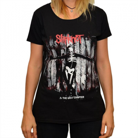 Tricou Femei SLIPKNOT -.5: THE GRAY CHAPTER0