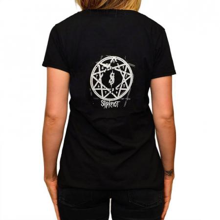 Tricou Femei Slipknot - Skull1