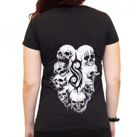 Tricou Femei Slipknot - White Logo [1]