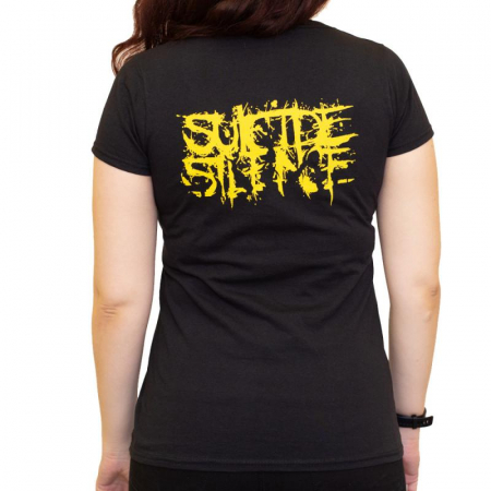 Tricou Femei Suicide Silence - The Black Crown1