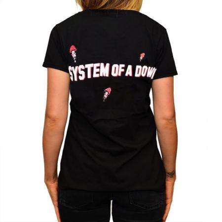 Tricou Femei System of a Down - Mushrooms [1]