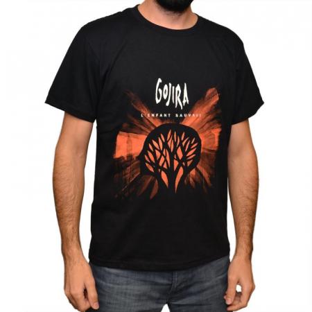 Tricou Gojira - L'Enfant Sauvage - 180 grame0