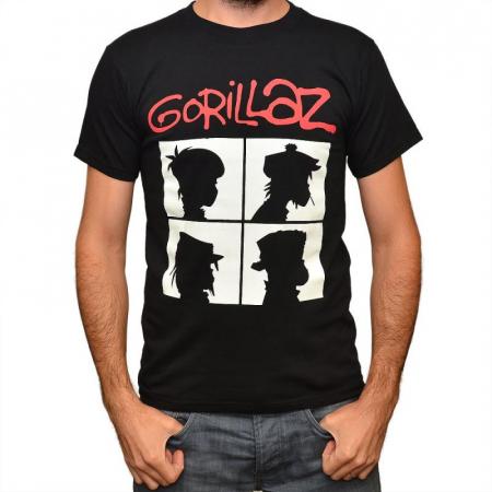 Tricou Gorillaz - Demon Days - 180 grame0