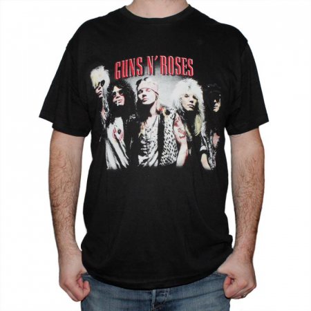 Tricou Guns N Roses - Band - 145 grame0