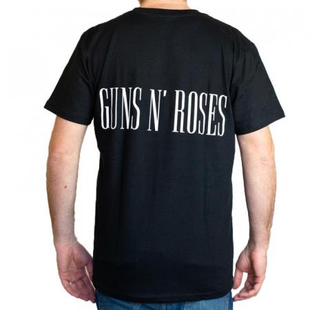 Tricou Guns N Roses - Band White marime - 180 grame [1]