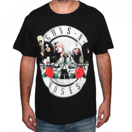 Tricou Guns N Roses Logo band - 180 grame0