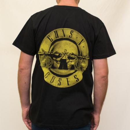 Tricou Guns N Roses - New Logo 180 grame1