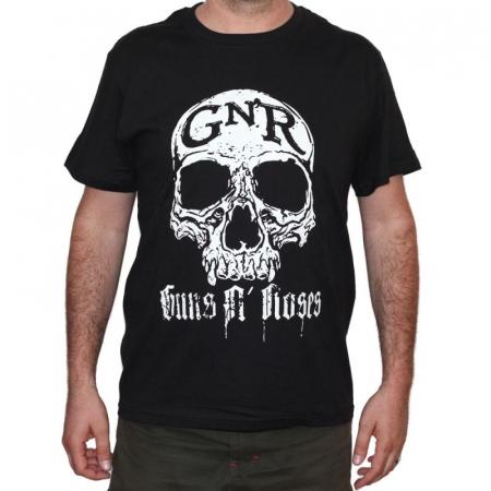 Tricou Guns N Roses - Skull - 180 grame0