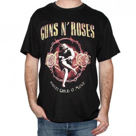 Tricou Guns N' Roses - Sweet Child O' Mine - 180 grame0