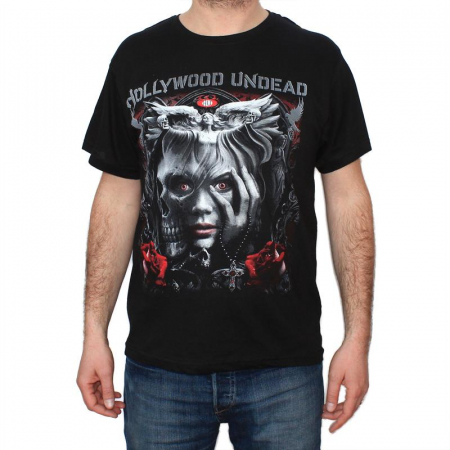 Tricou Hollywood Undead - Angel - 145 grame0