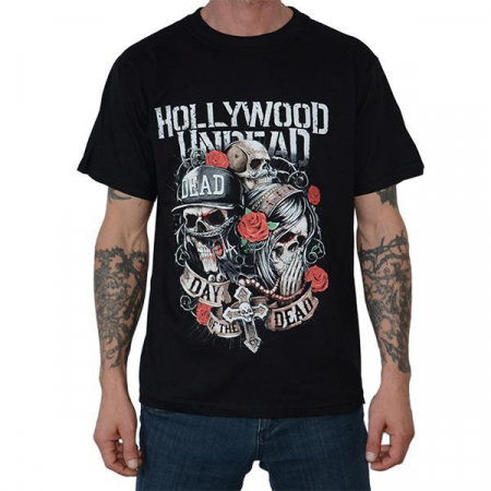 Tricou Hollywood Undead - Day of the Dead - 180 grame0