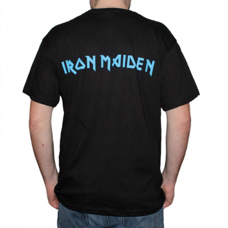 Tricou Iron Maiden - Eddie Faces - 145 grame1
