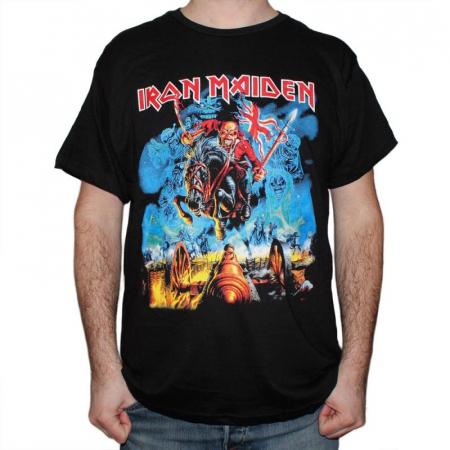 Tricou Iron Maiden - The trooper new 145 grame0
