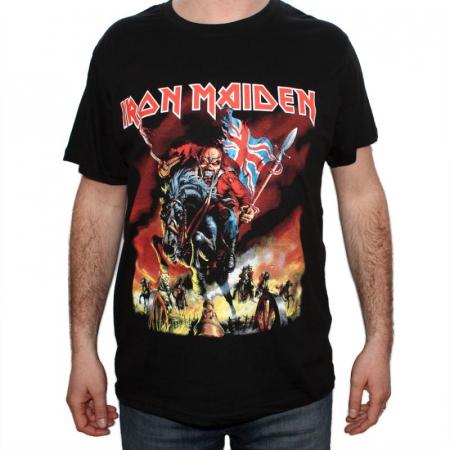 Tricou Iron Maiden - The trooper new - 180 grame0