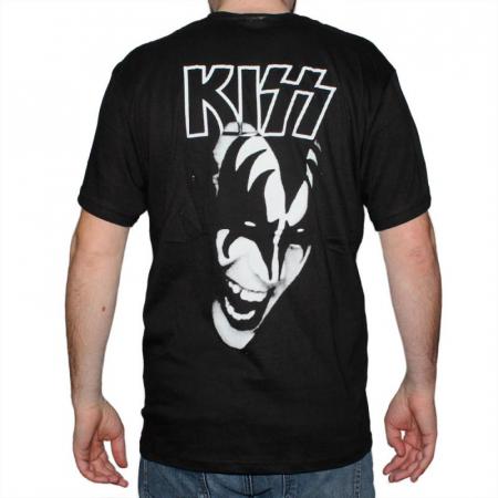 Tricou Kiss - White - 145 grame1