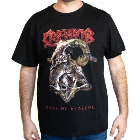 Tricou Kreator - God Of Violence - 180 grame0