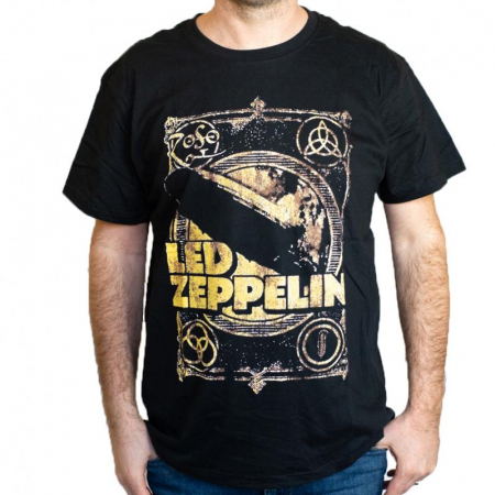 Tricou Led Zeppelin - 180 grame0