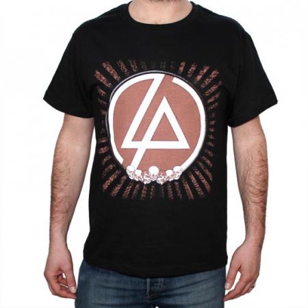 Tricou Linkin Park - Skulls - 180 grame0