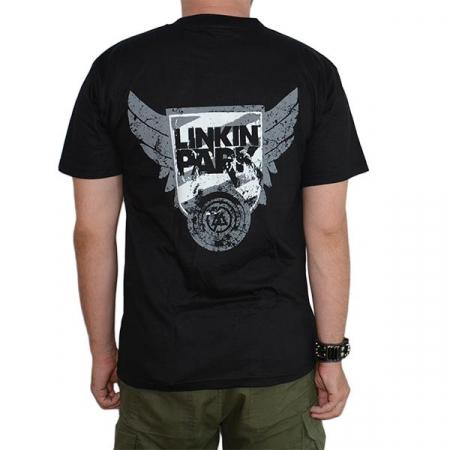 Tricou Linkin Park - White Logo - 180 grame1