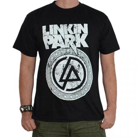 Tricou Linkin Park - White Logo - 180 grame0